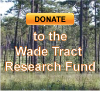Donate to the Wade Tract Research Fund